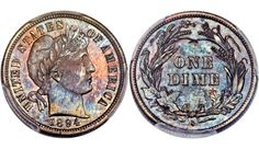 A rare barber dime sells at auction for nearly 2 million dollars. This coin video discusses the story behind this rare coin, how I personally sold a buffalo . Coin Card, Card Wallet, Coin Auctions, Coin Market, Coin Store, Silver Dimes, You Loose, A Dime, Half Dollar