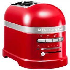 KitchenAid Artisan 2-Slice Toaster Empire Red | Red Toaster | Red Kitchen | ColourPuff.com