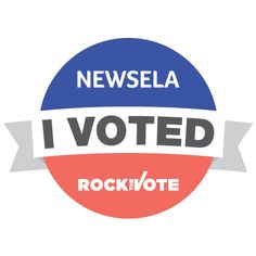 On the day of the general election, reward your students' civic participation by sharing official Newsela I VOTED stickers. Vote 2016, Rock The Vote, Vote Sticker, Learning Support, I Voted, Second Grade, Students, Company Logo, Teaching