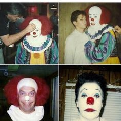 "1,352 Likes, 10 Comments - Stephen King's IT (@stephenkingsit) on Instagram: ""More BTS pictures. Credit to: @pennywiserules #it1990 #itbehindthescenes #pennywise #timcurry…"""
