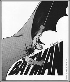 Ungoliantschilde — some more Batman artwork by the late Marshall...