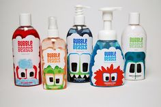 Bubble Beasts (Student Project) on Packaging of the World - Creative Package Design Gallery
