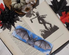 Excited to share this item from my #etsy shop: Black Bat Bookmark, Dracula Bookmark, Halloween, Vampire Bookmark, Wing Span, Bat Lovers Gift, Bookish Gift  #halloween #blackbat #cutebat #gothbookmark #bat #bookmarks Cute Bat, Halloween Vampire, Gifts For Readers, Black Bat, Altered Images, Lovers Gift, Dracula, Bookstagram, Bibliophile