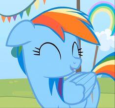 Rainbow Dash, Rainbow Falls, My Little Pony Quiz, My Little Pony Comic, Cute Ponies, Little Poney, Pony Drawing, Mlp Pony, My Little Pony Friendship