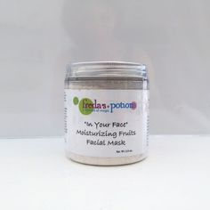 Our moisturizing fruits facial mask is a refreshing mask that can be used on all skin types.  I created a fusion of kaolin (white) clay, bananas, and strawberries to bring your face the fruit it deserves.