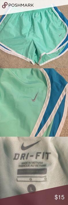 Nike running shorts Women's Nike running shorts. Size L. In great condition!! Nike Shorts