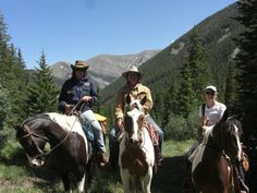 Our guests for the pack trip in 2012 at Zapata Ranch. #ZapataRanch