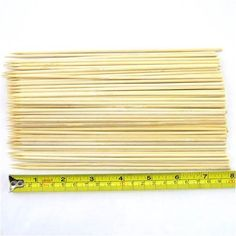 Case of Premium Bamboo Skewers, Bamboo Skewers, Grill Accessories, Outdoor Cooking, Tool Kit, Utensils, Barbecue, Grilling, Tools, Garden