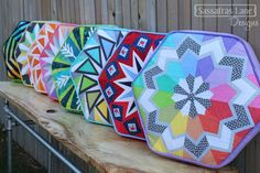 Did you see our Arcadia Avenue pillows at Quilt Market? Sassafras Lane put up a tutorial for how to make them yourself!