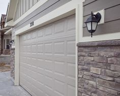 Hardie board siding with stone