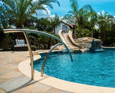 Best Stunning Bronze Custom Pool Handrail Pool Updating In 400 x 300