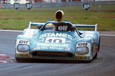 Vern Schuppan / Jacques Laffite / Sam Posey - Mirage M9 Renault - Grand Touring Cars Inc. - XLVI Grand Prix d'Endurance les 24 Heures du Mans - 1978 FIA World Challenge for Endurance Drivers, round 5 - © Paul Kooyman