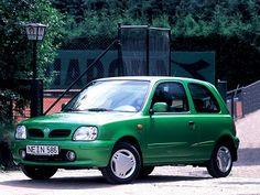 Nissan Micra 3-door (1997 – 1999).