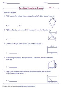 Solve one step equation: multiplication and division. | Linear ...