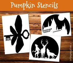 Amazing pumpkin carving stencils with Harry Potter theme. A flying key, the marauders and ofcourse Hogwarts! Look like I could actually pull these off! Made by HarryPotterParty.nl