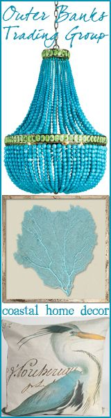 it's really the lamp i like. what to do with broken turquoise necklace beads! House of Turquoise: Historical Concepts - Day Two