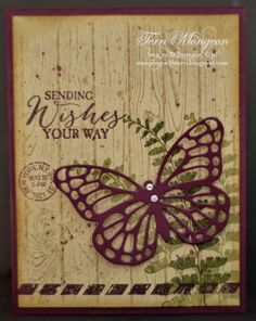 butterfly basics card ideas - Google Search