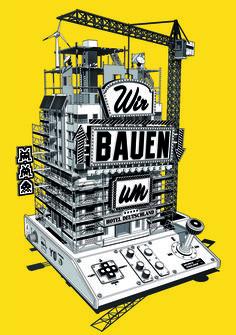 WIRED MAGAZINE GERMANY  Illustrator: Stephan Walter - www.stephanwalter.ch