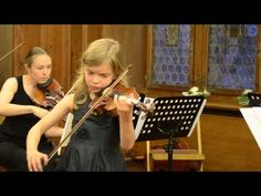 A-major Sonata (Variations) by N.Paganini; performing Variations by Niccolo Paganini in a baroque concert of young violinists of the Zakhar Bron School of Music […] in Rathaus Zug, Switzerland—See more of this young violinist #from_TatjanaEigus