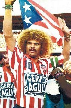 Valderrama. Eterno capitán de Atlético Junior de Barranquilla Football Stickers, Football Cards, Football Soccer, Football Players, Ronald Mcdonald, Culture, Fictional Characters, Iphone, Soccer Players
