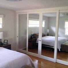 Closet Doors: Mirrored Sliding Glass Doors | Yelp