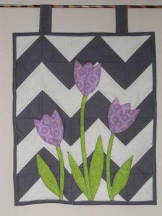 Tulips Mini Art Quilt