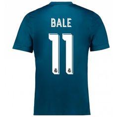 Real Madrid Gareth Bale 11 3rd trikot 17-18 Kurzarm
