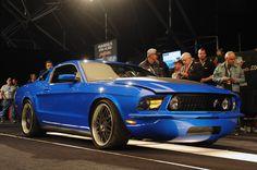 Barrett-Jackson 2013: Johnny Sparks' Reversion Mustang
