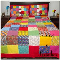 16 Patch Quilt, Rag Quilt, Diy Resin Crafts, Diy Home Crafts, Big Block Quilts, Quilt Blocks, Bed Cover Design, Patchwork Curtains, Designer Bed Sheets