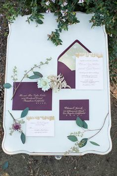 A muted pastel wedding inspiration shoot with Claire Pettibone wedding dresses and a unique color palette. Gold Wedding Invitations, Invites, Bridesmade Dresses, Wedding Dresses, Purple And Gold Wedding, Unique Colors, Pastels, Shabby, Wedding Inspiration