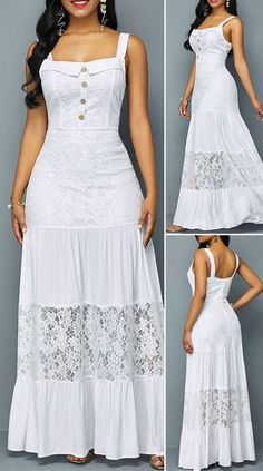 White Dresses: Tips for wearing the garment and getting it right- Vestidos Brancos: Dicas para usar a peça e acertar no look White Dresses: Tips for wearing the garment and getting it right - Pretty Dresses, Women's Dresses, Beautiful Dresses, Dress Outfits, Casual Dresses, Peasant Dresses, Amazing Dresses, Winter Dresses, Long Dresses