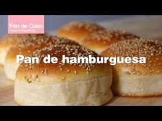Receta Pan Brioche, Bread Dough Recipe, Bread Rolls, No Cook Meals, Hamburger, Bakery, Food And Drink, Cooking, Sweet