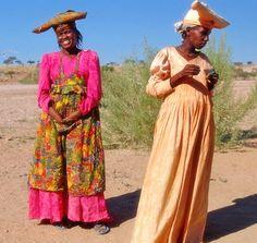 2 Herero Women, Namibia. BelAfrique - your personal travel planner - www.BelAfrique.com