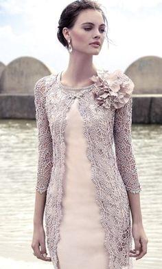 photo of ladies formal daywear design 19 detail by Carla Ruiz
