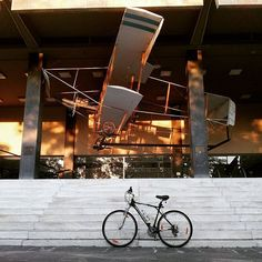 Ready to fly  #bicycle #fly #oldplane #learningtofly #warmuseum #athensgreece #bikephoto #flyingmachine