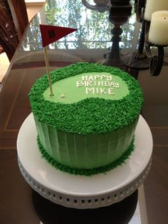 New Images golf cake Tips Golfing, not like most baseball video game titles, are unable to and employ a standard participating in place, and also Golf Themed Cakes, Golf Birthday Cakes, Golf Cakes, Guy Birthday, Theme Cakes, Cake Cookies, Cupcake Cakes, Cupcakes, Captain America Birthday Cake