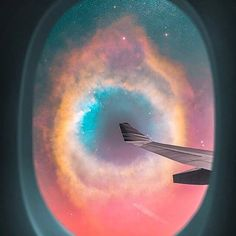 if you COULD go ANYWHERE in the universe where would you go? imagine looking out the window of a spaceship and seeing the helix nebula. Commercial space travel could make stuff like this possible in the future. It's what people like Elon Musk, Richard Branson, and Jeff Bezos are working on. It might not be possible to travel to the helix nebula anytime soon, but there's more than enough alien worlds/moons in our own solar system that would be just as incredible.