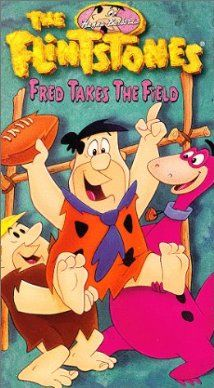 The Flintstones came on every Friday night and mom would make hamburgers while Dad and I watched Fred and Barney.