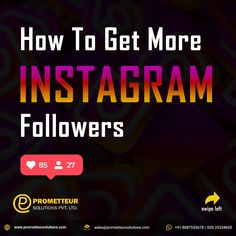 More Instagram Followers, Instagram Accounts, Solution, Hashtags, Insta Like, How To Get, India, Content, Live