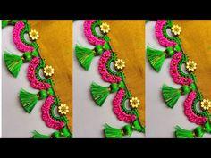 saree kuchu #187 // how to make #bridal saree kuchu / siri Creations Women's Adda - YouTube Saree Kuchu Designs, Blouse Designs, Kalash Decoration, Saree Tassels, Horse Costumes, Hand Embroidery Videos, Saree Border, Wedding Designs, Embroidery Designs
