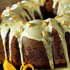 Pumpkin Cake with Orange Glaze III Recipe