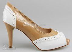 Oxford plat form heels