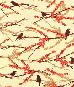 Joel Dewberry Sparrows Bark Fabric - $8.1031 | onlinefabricstore.net