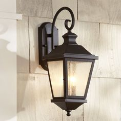 Found it at Wayfair - Hillside 2 Light Outdoor Wall Lantern Wall Lights, Wall Sconces, Outdoor Wall Sconce, Outdoor Lanterns, Outdoor Walls, Garage Lighting, Farmhouse Light Fixtures, Outdoor Sconces, Wall Sconce Lighting
