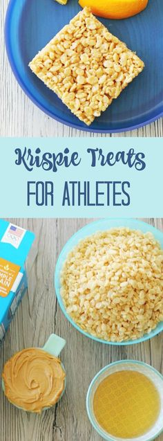 Krispie Treats for Athletes