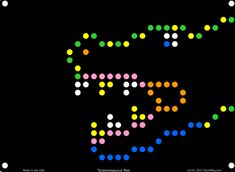 Lite Brite Design Refill: Dinosaurs (for Create With Light / Magic Screen) - 12 sheets with Colored Letters