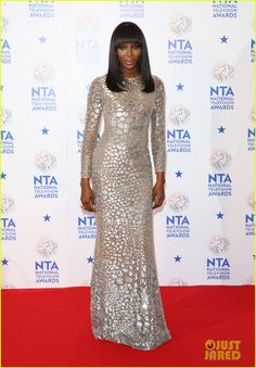 Naomi Campbell attends the 2014 National Television Awards held at the O2 Arena on Wednesday (January 22) in London, England.