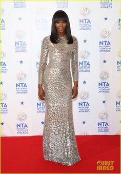 Naomi Campbell: National Television Awards 2014!