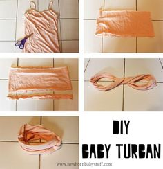 Baby Accessories DIY Baby Turban (Life with Our Littles)