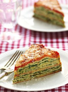 Use crepes to make this Lasagna with Ricotta and Spinach.